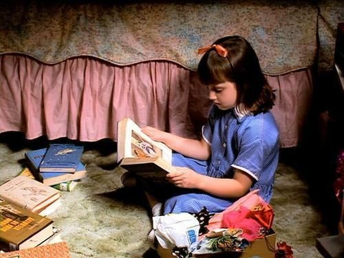 Image result for matilda reading