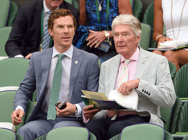 When he got an invite to the Wimbledon final and took his dad