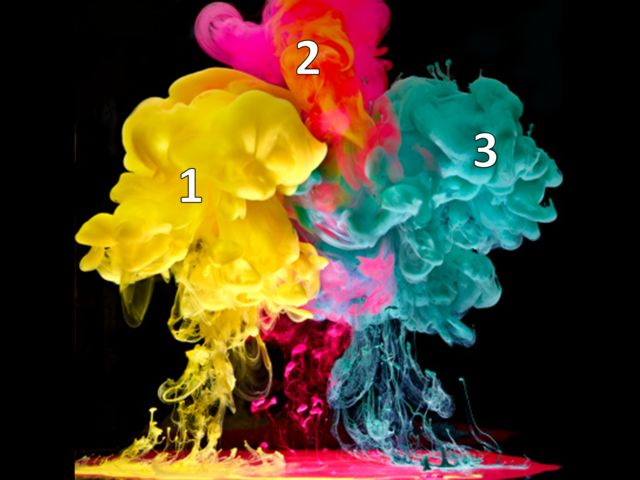 Qual cor é o oposto da 3 em um círculo cromático?