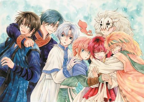 Image result for akatsuki no yona
