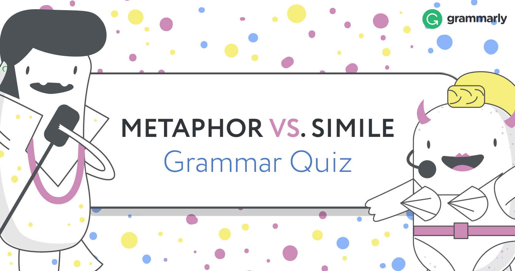 Metaphor Vs Simile Grammar Quiz