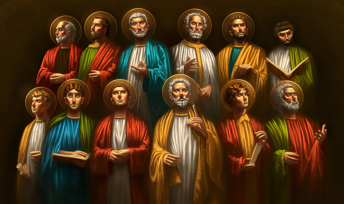 Image result for twelve apostles of jesus