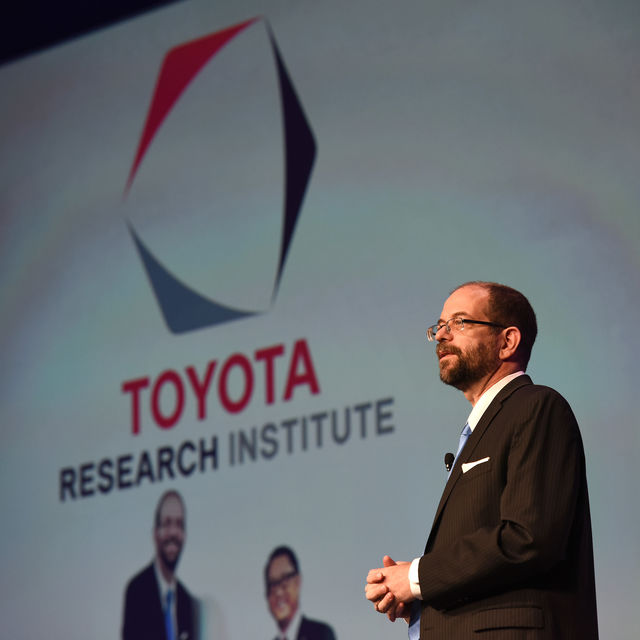 Toyota is investing heavily in self-driving technology.