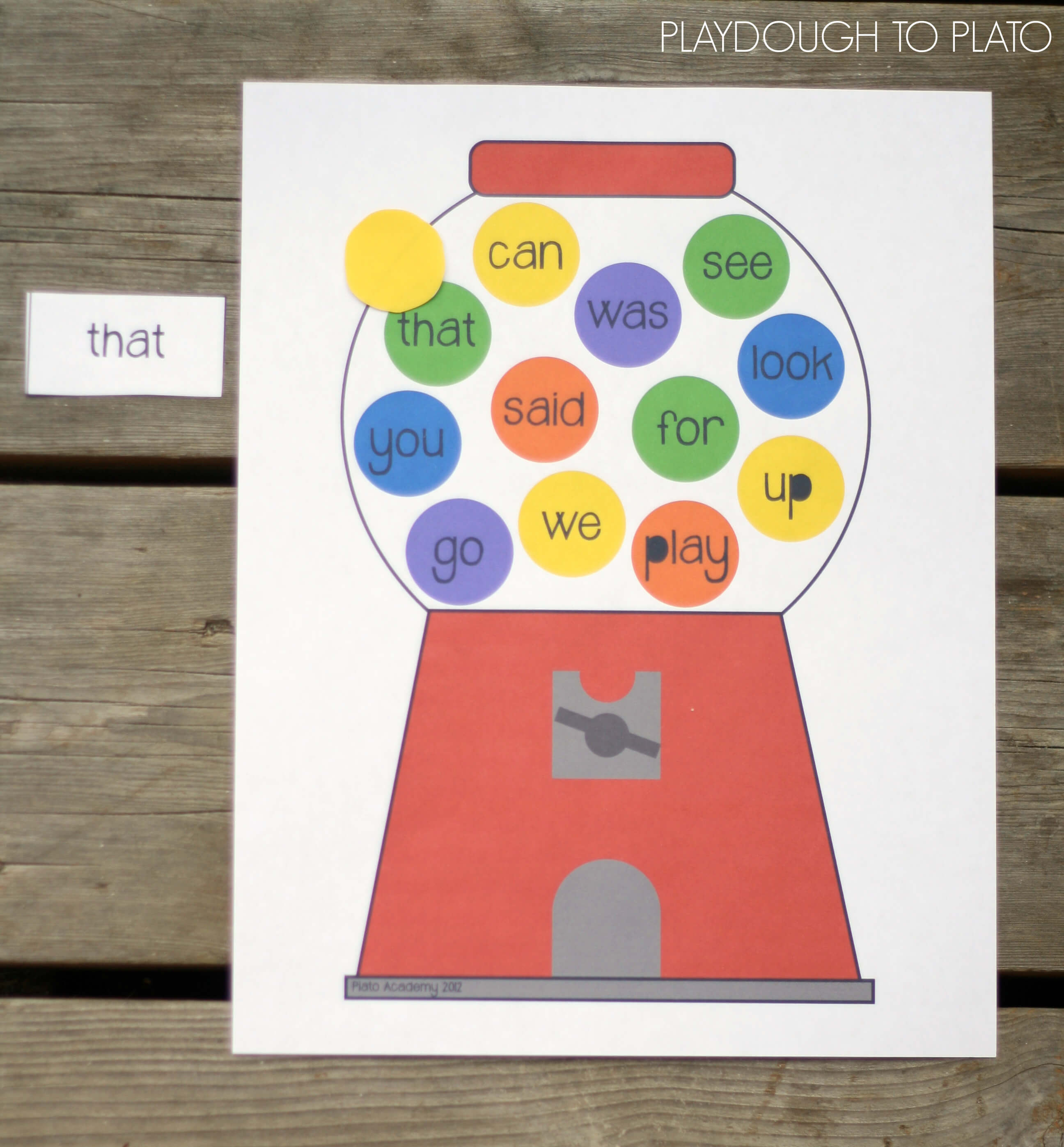 30 Editable Sight Word Games