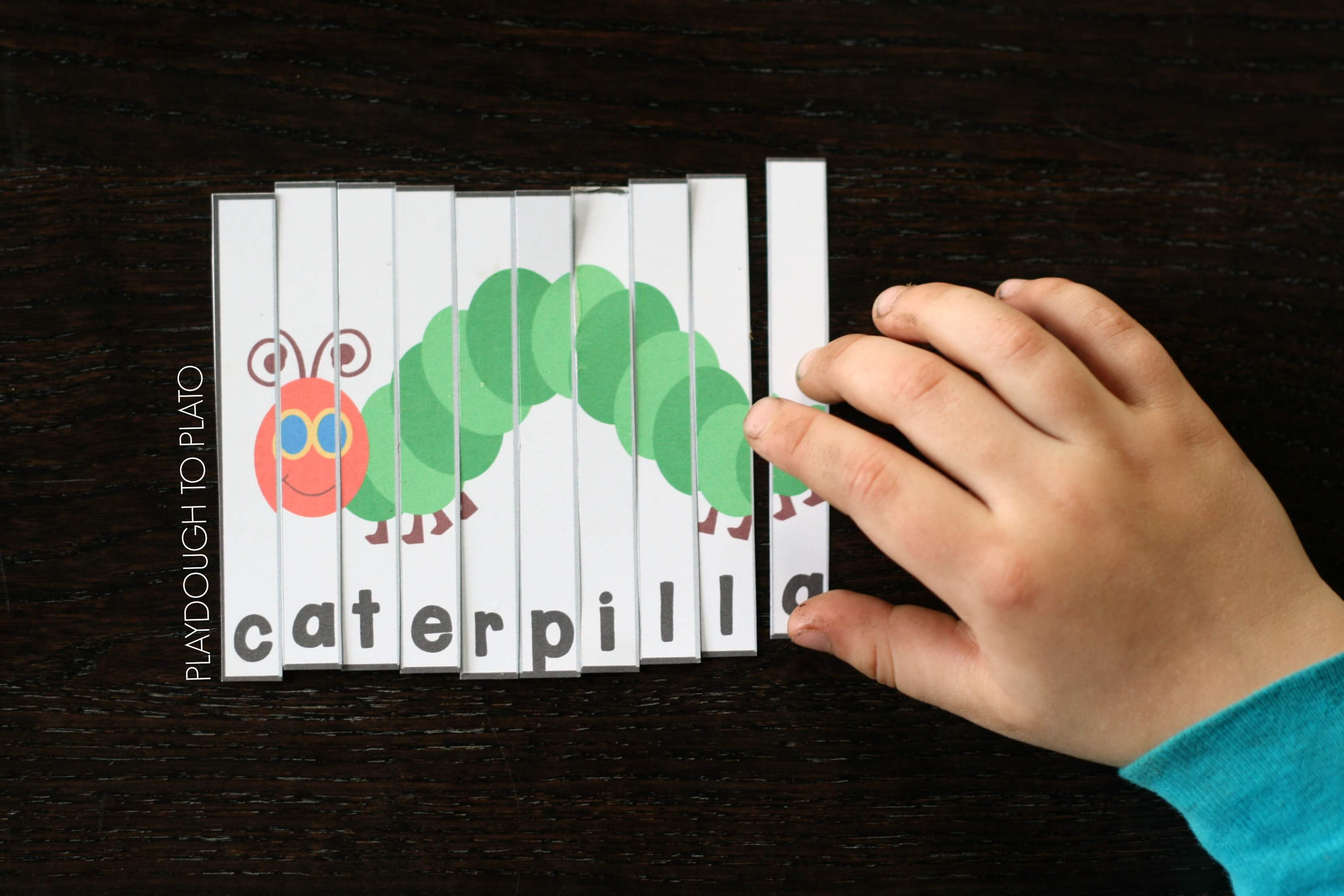 Very Hungry Caterpillar Puzzles