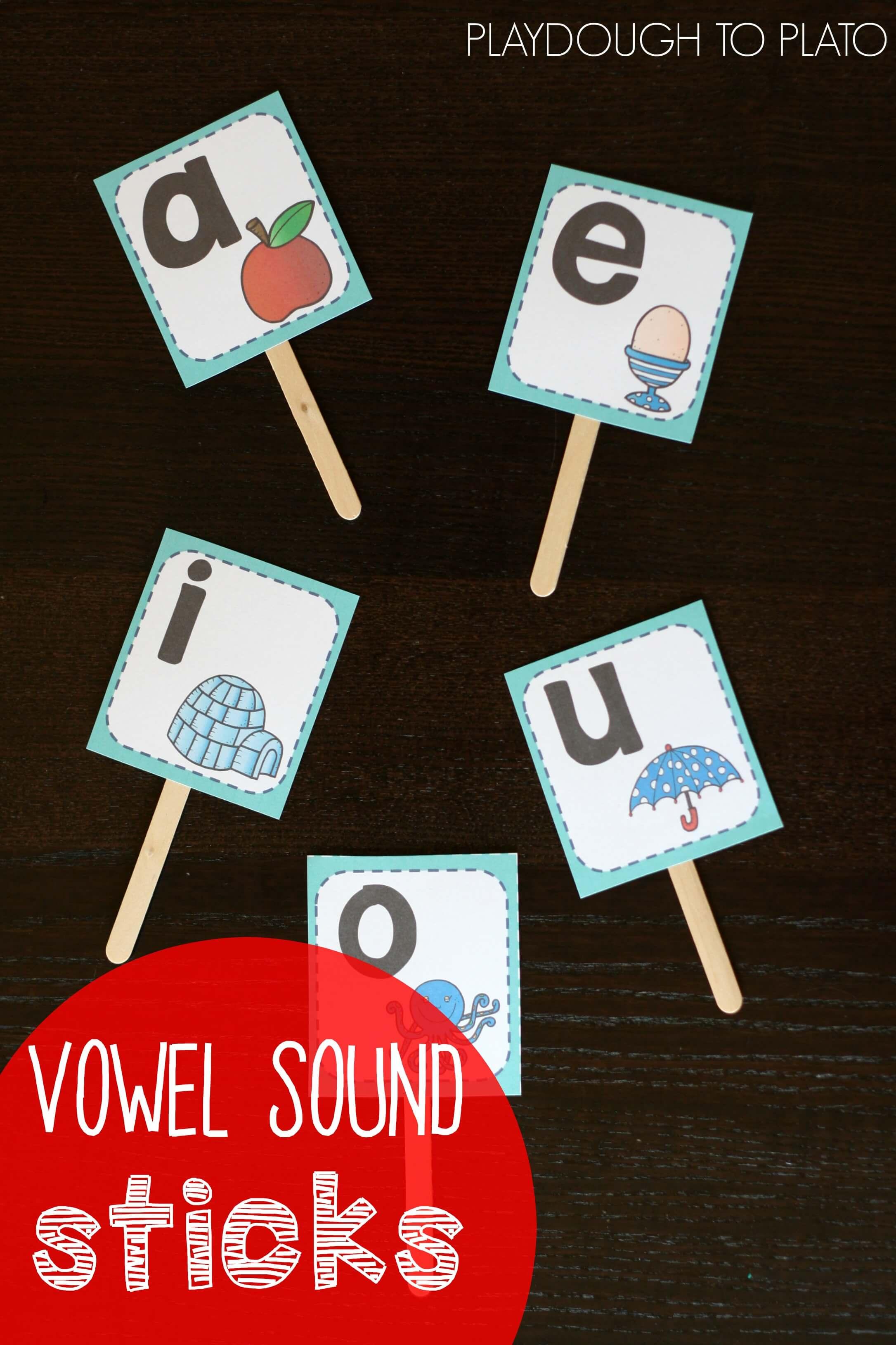 Vowel Sound Sticks