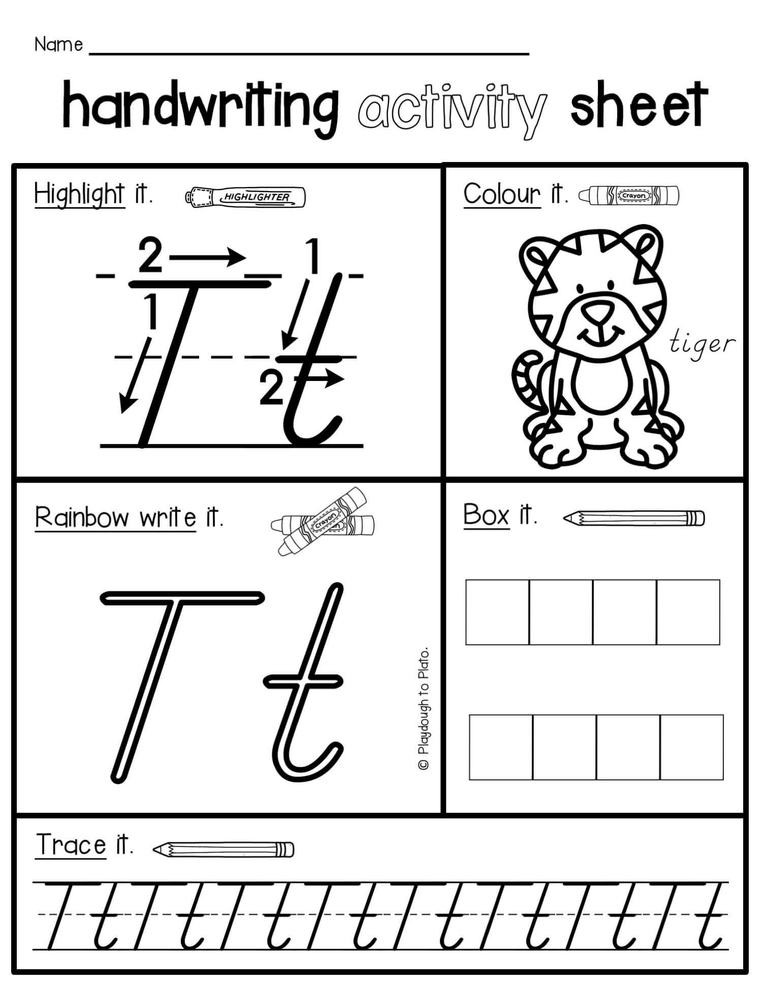Handwriting Activity Pack