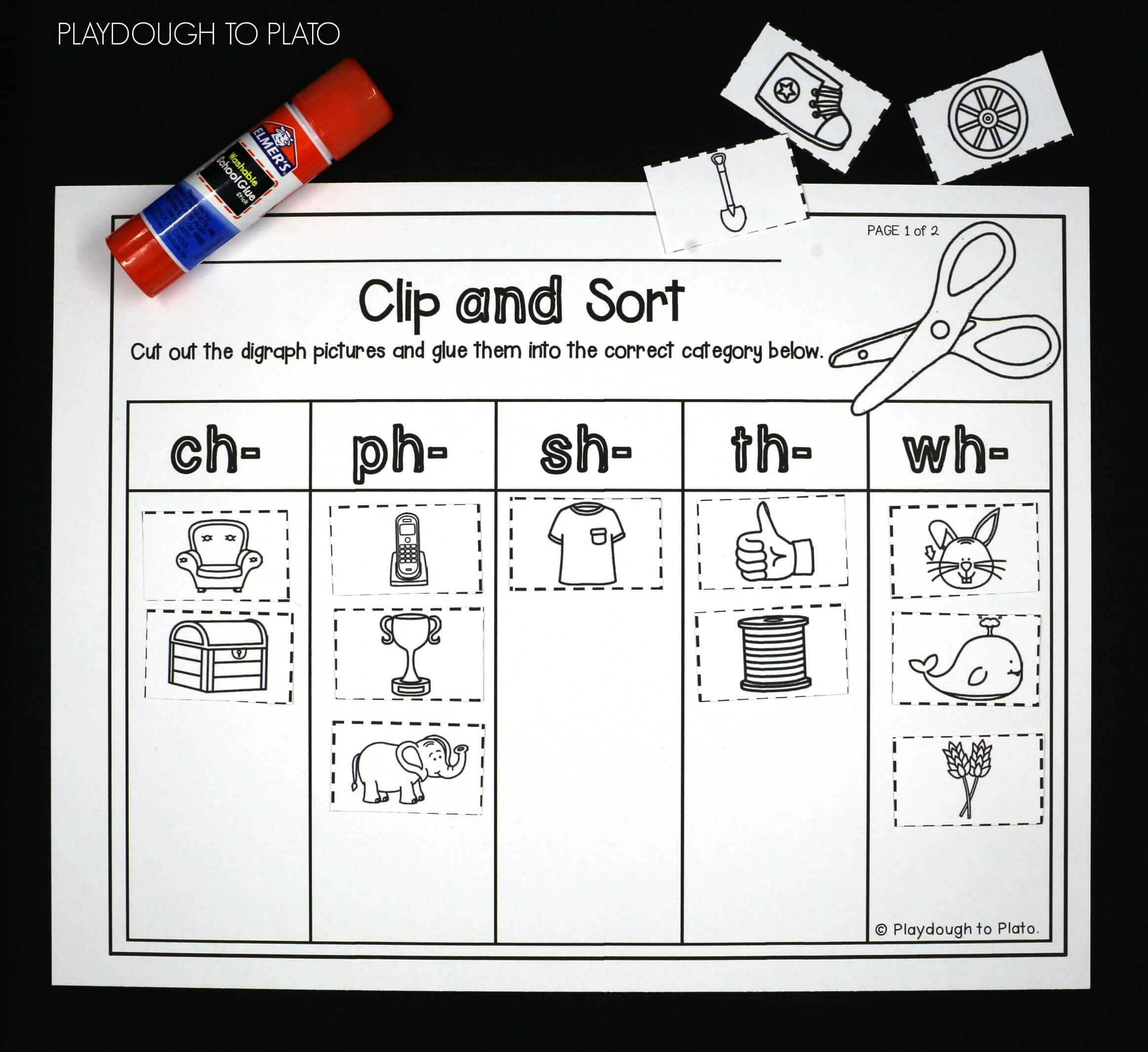 Digraph Coloring Pages Kn Ng Ph Qu Printables