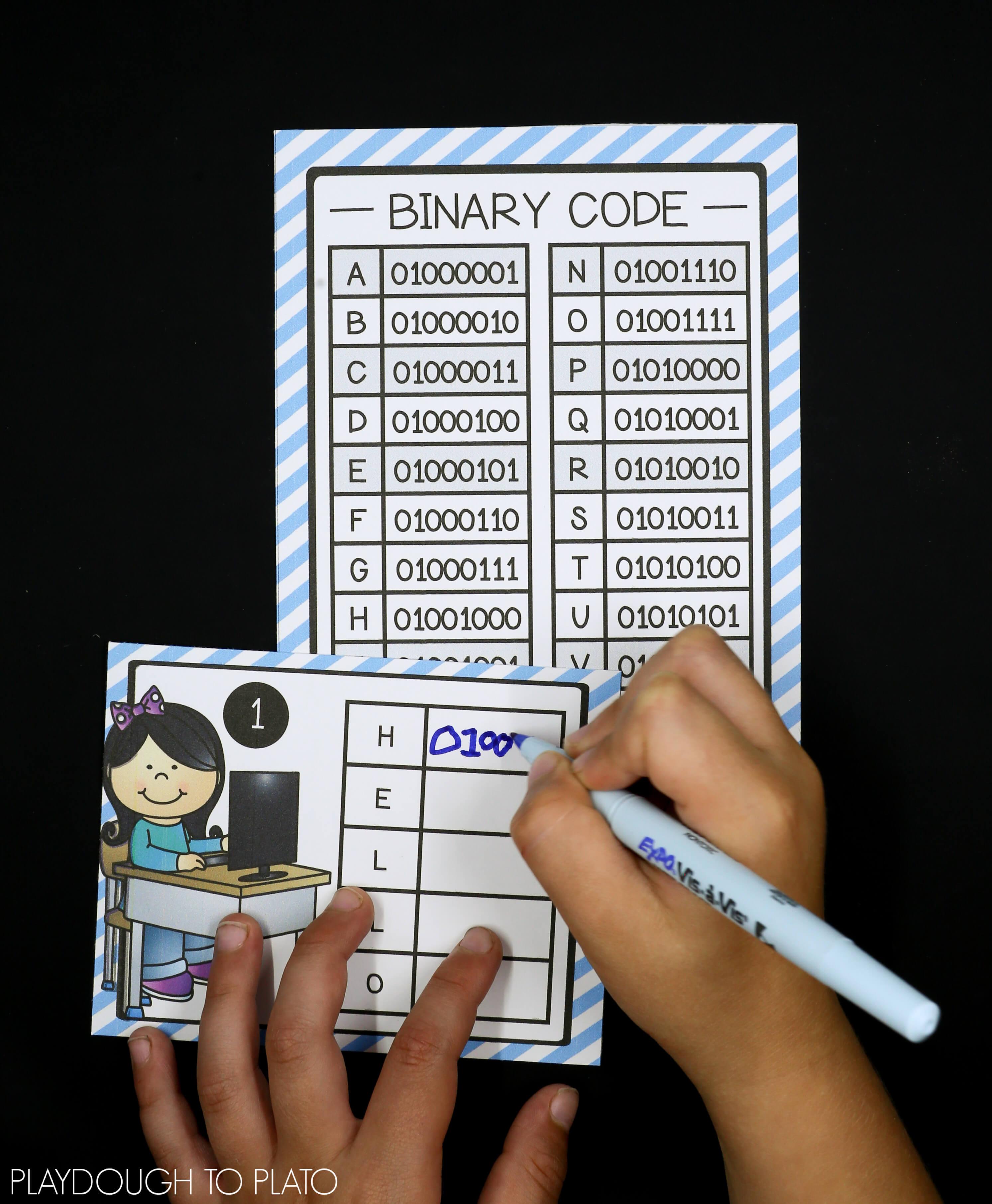 Stem Challenge Write Computer Code