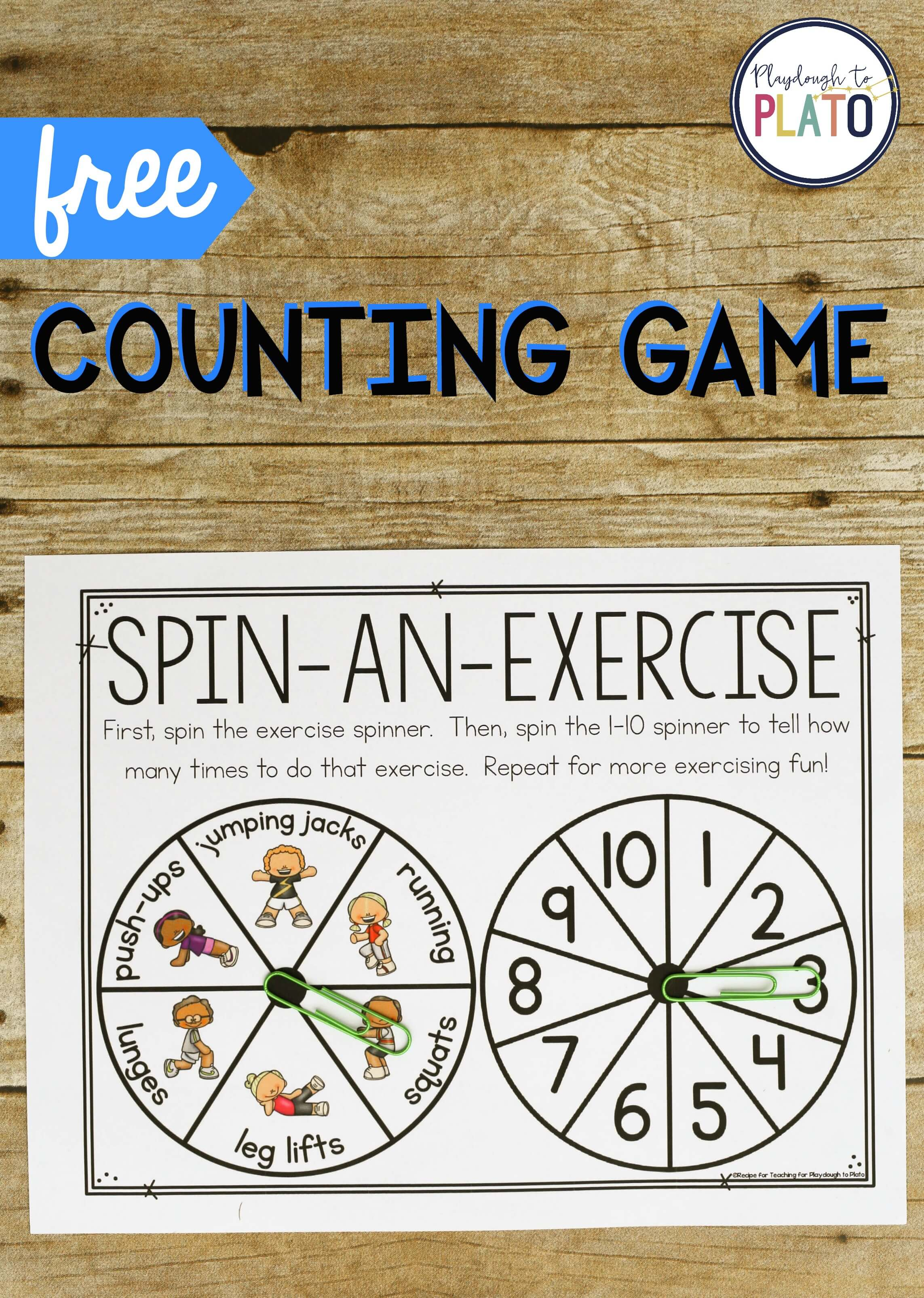 Exercise Counting Game