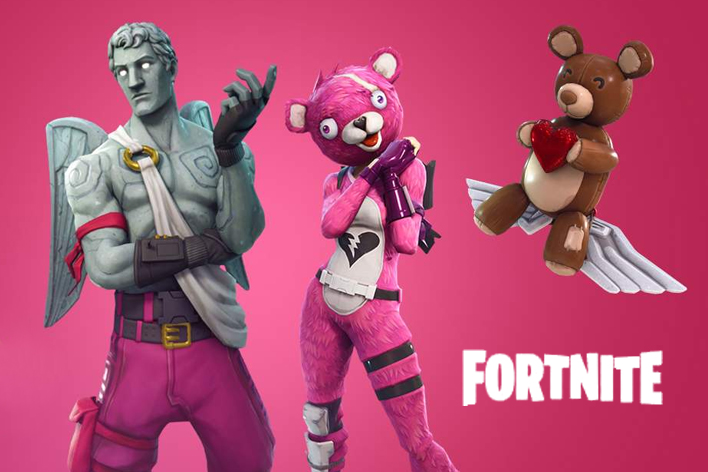 Fortnite Update 242 142 Adds New Crossbow Amp Valentine
