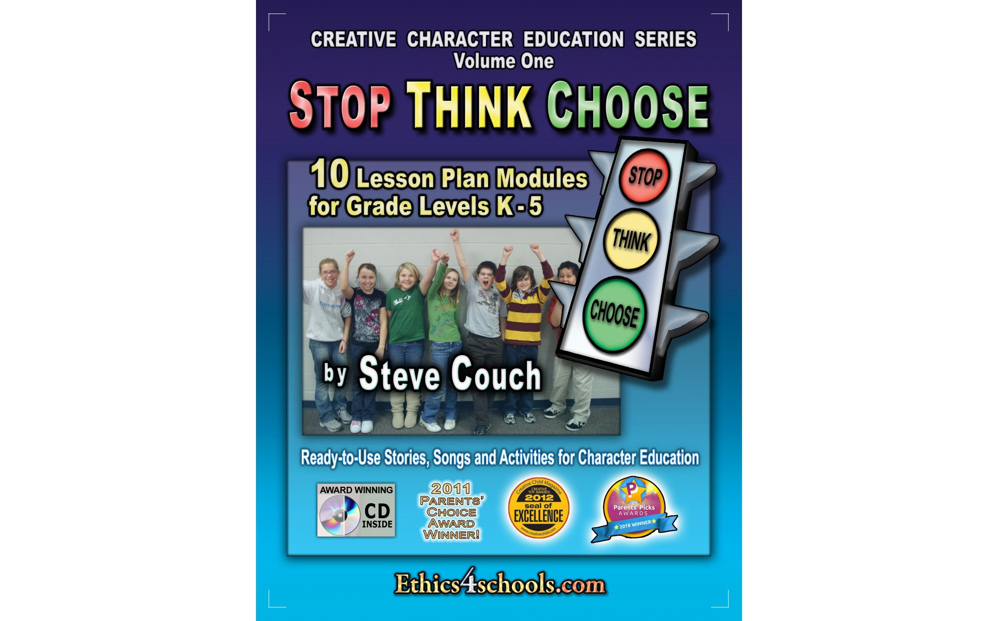 Stop Think Choose Activity Book
