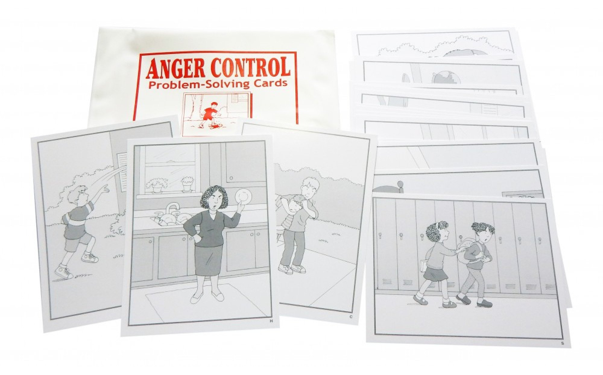 Anger Control Problem Solving Cards Games