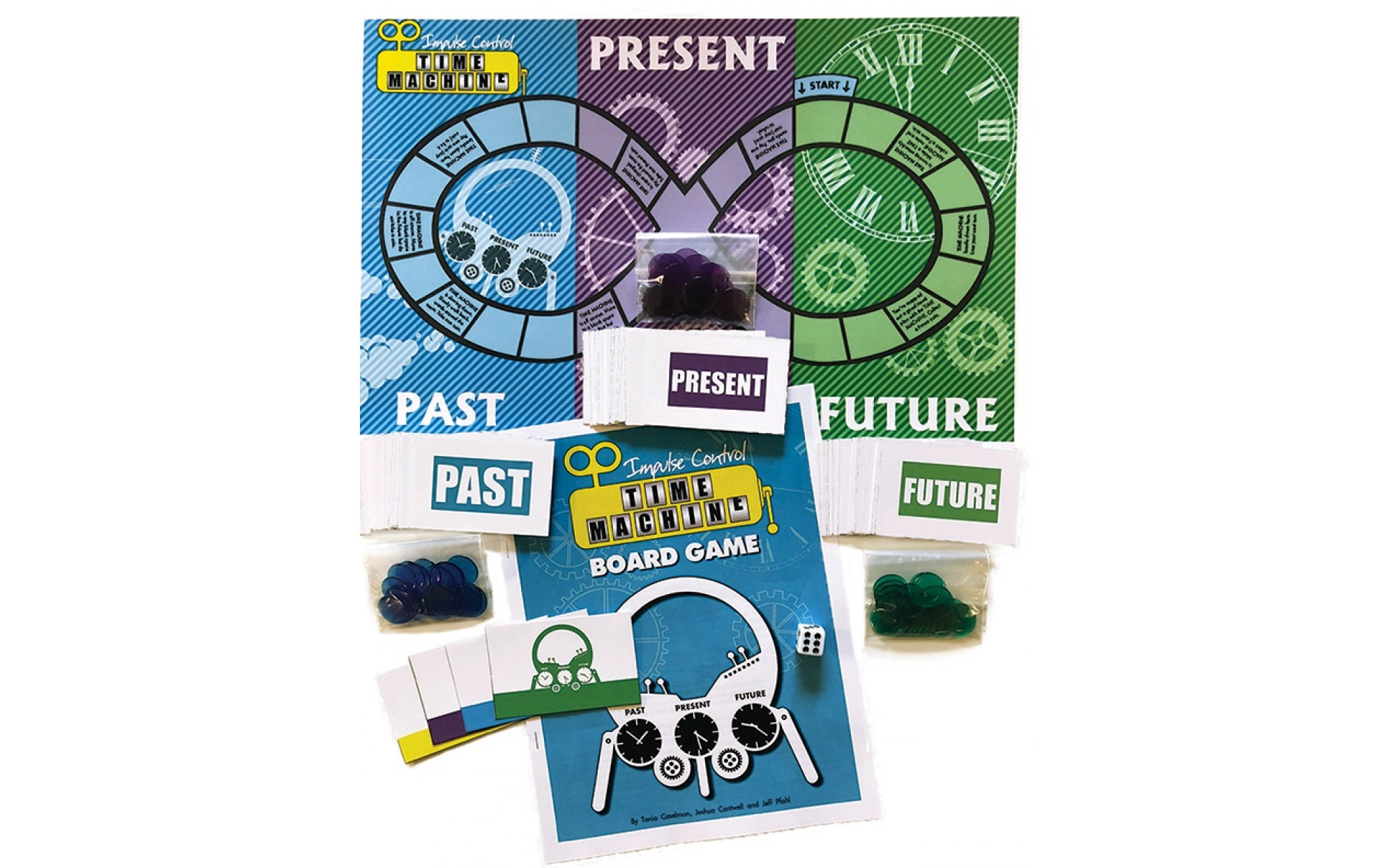 Impulse Control Time Machine Board Game Games