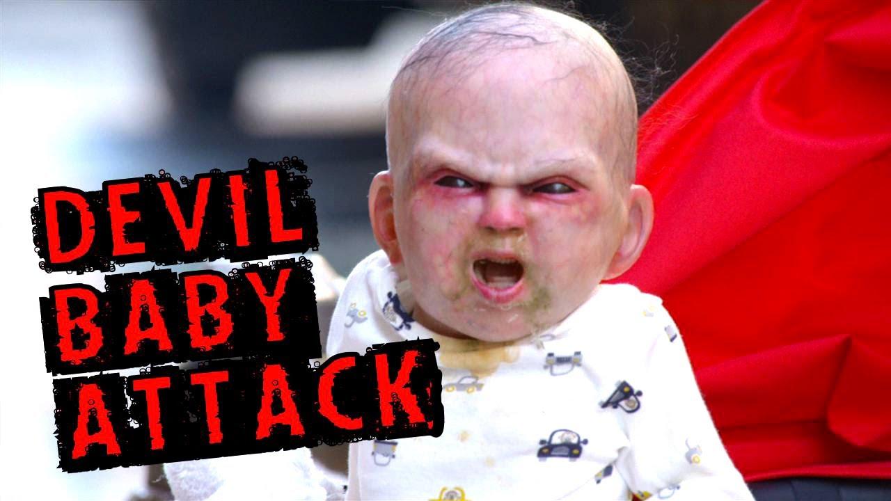 Herdeiro Do Diabo throughout pegadinha com bebê em nova york divulga filme 'o herdeiro do diabo