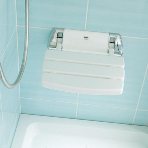 Mira Shower Seat White 21536128 Shower Seats