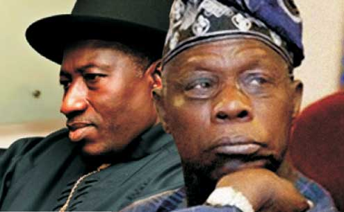 Jonathan, Obasanjo: no further comment