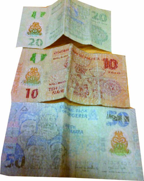 Nigeria's polymer currencies fading
