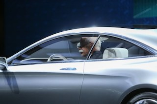 The new Mercedes Benz S Class coupe