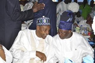 Muhammadu Buhari and Governor Ibikunle Amosun