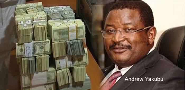 Andrew Yakubu and his dollars