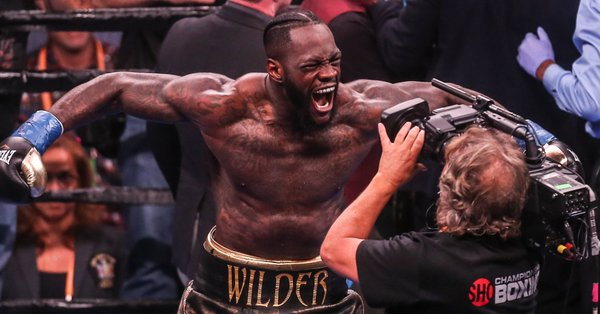 I am from Edo State, says Ex-WBC Heavyweight champion, Deontay Wilder