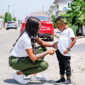Tiwa Savage gushes over son as he turns 4 - P.M. News