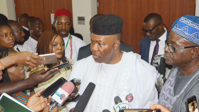 Senator Godswill Akpabio speaks on NDDC