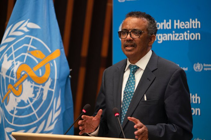 Tedros Ghebreyesus: WHO director-General:  worried over exploding COVID-19 cases in Africa