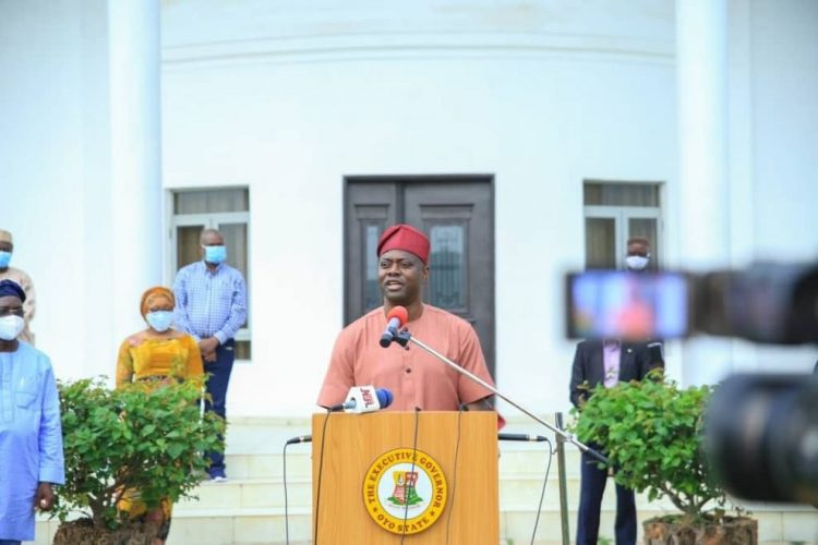 Gov. Seyi Makinde of Oyo State