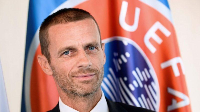 Aleksander Ceferin UEFA President: talks with UK on Wembley