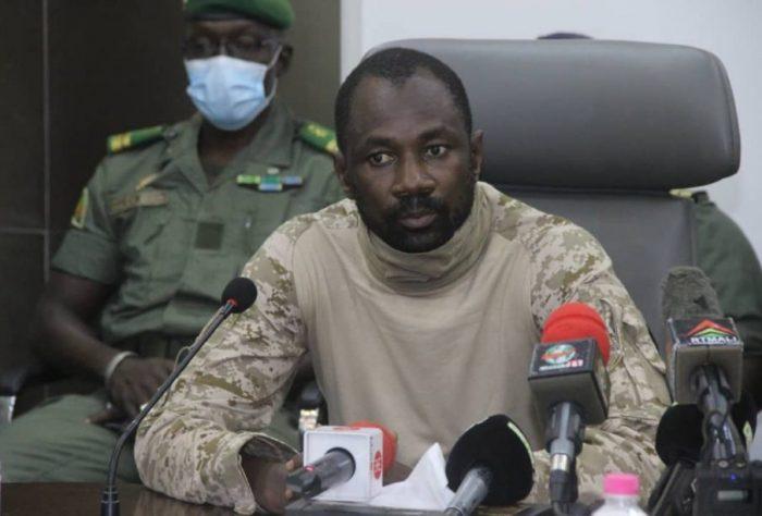 Colonel Assimi Goita: seizes power in Mali
