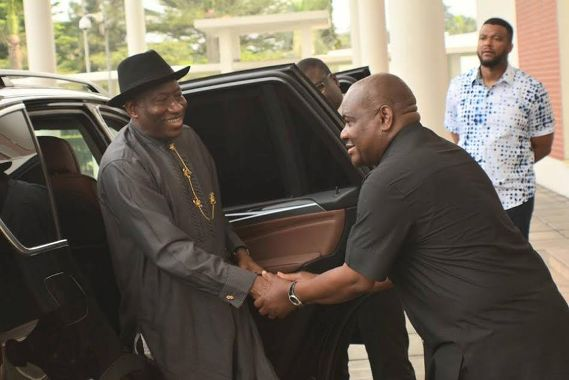 What Jonathan told Wike that may interest you - P.M. News