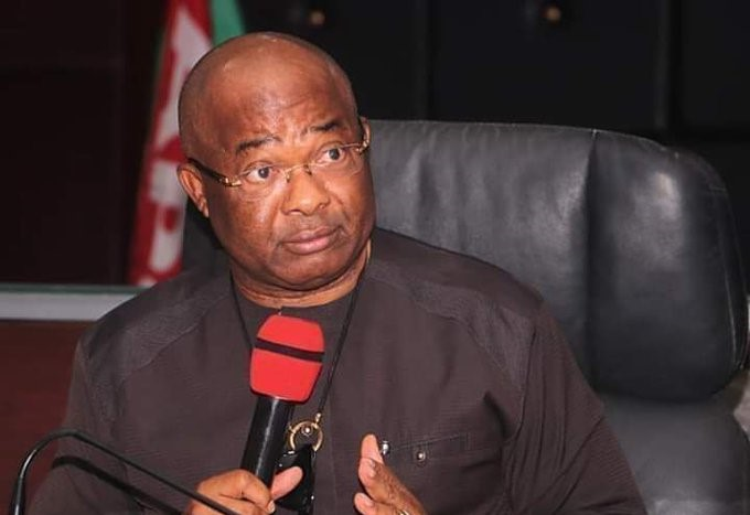 Senator Hope Uzodinma, Imo State Governor says attack on facilities in the state sponsored by politicians