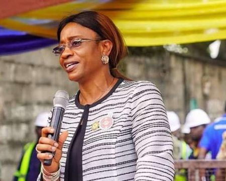 Special Adviser to the Governor on Works and Infrastructure Mrs Aramide Adeyoye