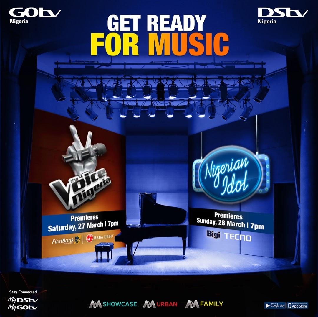 Nigerian Idol, The Voice Nigeria to premiere this weekend