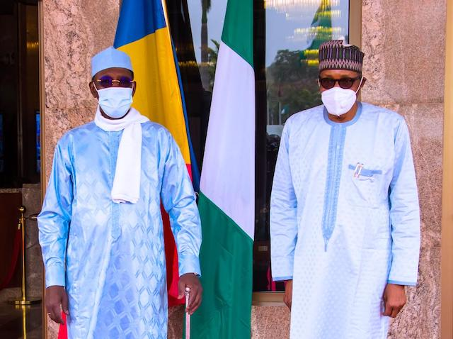 Buhari and Deby together for the last time