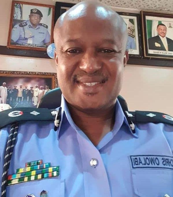 Commissioner  of Police Christopher Owolabi