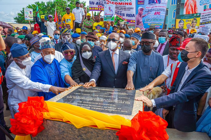 Abiodun commissions Lusada Junction-Igbesa-Ogun Guangdong FTZ Road