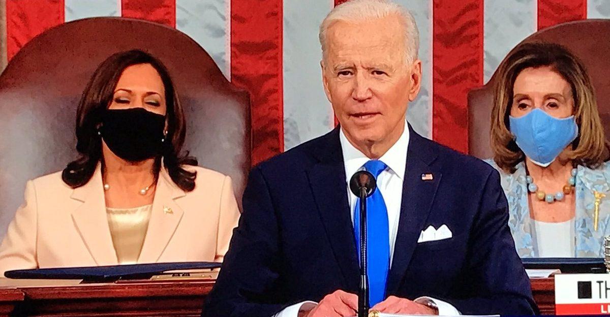 President Joe Biden  addresses Congress