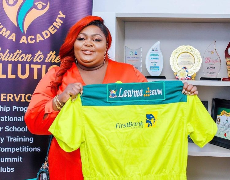 Eniola Badmus unveiled as LAWMA Ambassador