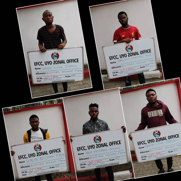 Music producer, four others arrested for cybercrime in Uyo