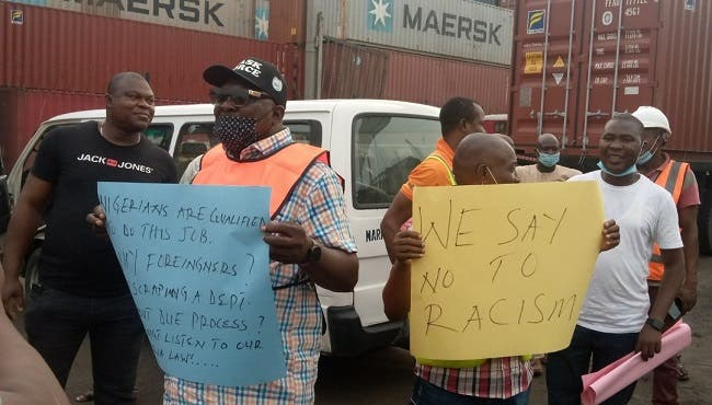 Aggrieved maritime workers