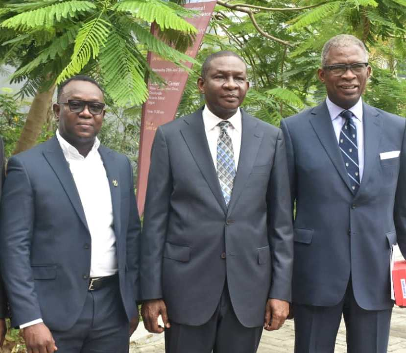 L-R: Lanre Mojola, Tayo Bamgbose-Martins and Supo Sasore at the event