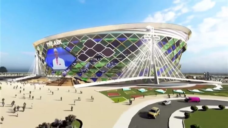 3D presentation of The Ark to be built with over N160 billion by Bishop Oyedepo's Living Faith
