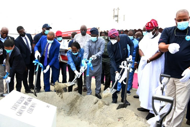 Sanwo-Olu flags off construction of Red Line in Ikeja on Thursday
