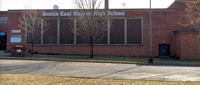 The  Knoxville, Tennessee school  where the shooting occurred