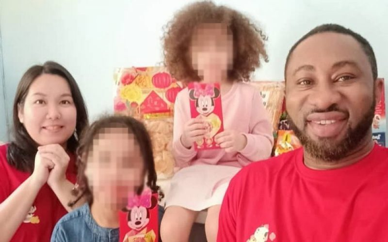 simon adavize momoh, his wife and two daughters to be deported by Malaysia