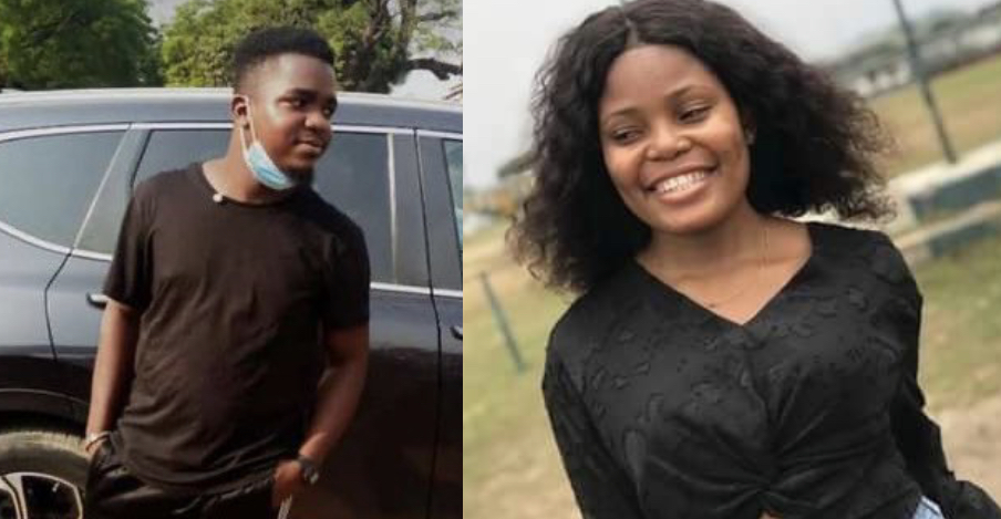 Late Iniobiong Umoren and her abductor