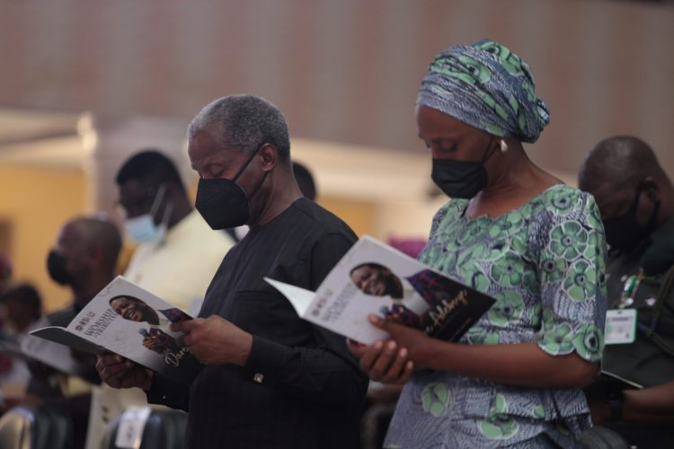 Osinbajo, Dolapo and others at the event
